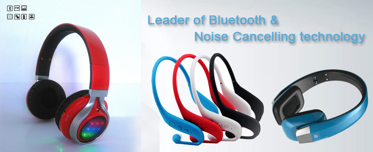Leader of Bluetooth & Noise Cancelling techno